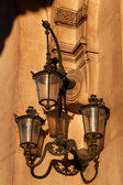 Streetlamp in Paris, Ile France, France — Stock Photo