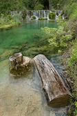 Waterfall of Orbaneja del Castillo, Burgos, Castilla y Leon, Spa — Stock Photo
