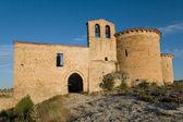Hermitage of San Frutos, Hoces del Duraton, Segovia, Castilla y — Stock Photo