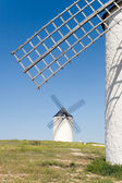 Mills, Campo de Criptana, Ciudad Real, Castilla la Mancha, Spai — Stock Photo
