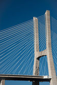 Vasco de Gama bridge, Lisbon, Portugal — 图库照片