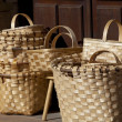 Stock Photo: Baskets in Lierganes, Cantabria, Spain