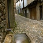 Fountain in La Alberca, Salamanca,Castilla y Leon, Spain — Stock Photo #20147761