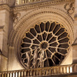 Cathedral of Notre Dame, Paris, Ile de France, France - Stock Photo