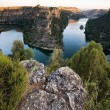 Natural park of Hoces del Duraton, Segovia, Castilla y Leon, Spa — Foto de Stock