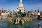 Monument aux girondins, Bordeaux, Gironde, Aquitaine, France — Stock Photo