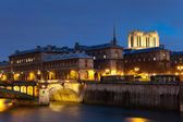 Ile de la cite, Paris, Ile de France, France — Stock Photo