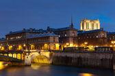 Ile de la cite, Paris, Ile de France, France — Stock Photo