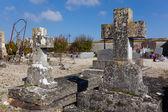Cemetery of Paroy, Seine, et Marne, Ile de France, France — Stock Photo