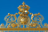 Crown in Versailles, Yvelines, Ile de France, France — Stock Photo
