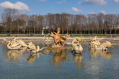 Fountain in Versailles, Yvelines, Ile de France, France — Stock Photo