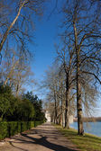 Landscape in the castle of Fontainebleau, Seine et marne, Ile de — Stock Photo
