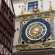 Gros horloge, Rouen, Seine-maritime, Haute-Normandie, France — Stock Photo #26605729