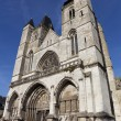 Cathedral of Les Andelys, Haute Normandie, France — Stock Photo #26606323