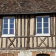 Architecture of Les Andelys, Haute Normandie, France — Stock Photo