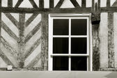 Architecture of Honfleur, Calvados, Basse Normandie, France — Stock Photo