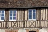 Architecture of Les Andelys, Haute Normandie, France — Stock Photo