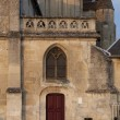 Stock Photo: Church of Crepy en Vallois, Picardie, France