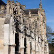 Cathedral of Les Andelys, Haute Normandie, France — Stock Photo #26613511