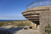 Bunker in the Pointe du Hoc, Cricqueville-en-Bessin, Normandie, — Stock Photo