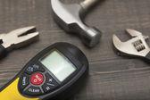 Stavební nástroje — Stock fotografie