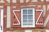 Architecture of Le Bec-Hellouin, Eure, Haute-Normandie, France — Stock Photo