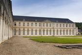 Abbaye Notre-Dame du Bec, Le Bec-Hellouin, Eure, Haute-Normandie — Stock Photo