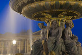 Fontaine des Fleuves, Concorde square, Paris, Ile de France, Fra — Stock Photo