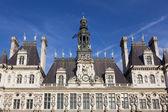 酒店 de ville,巴黎,ile de 法国、 法国 — 图库照片