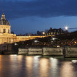 Pont des arts and and institut de France, Paris, Ile de France, — Stock Photo #32803899