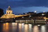 Pont des arts and and institut de France, Paris, Ile de France, — Stock Photo
