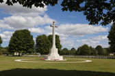 British Cemetery of the Second World War, Bayeux, Calvados, Norm — Stock Photo