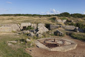 La Pointe du Hoc, Cricqueville-en-Bessin, Normandie, France — Stock Photo