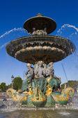Fontaine des Fleuves, Concorde square, Paris, Ile de France, Fra — Stock Photo