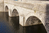 Bridge of the Castle of Sully-Sur-Loire, Loiret, France — Stock Photo
