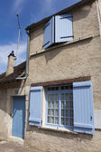 Architecture of Auxerre, Yonne, Bourgogne, France — Stock Photo