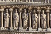 Notre Dame cathedral, Paris, Ile-de-france, France — Stock Photo