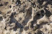 Texture in the beach of Dieppe, Cote d'Albatre, Haute-Normandie — Stock Photo