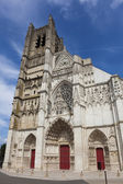 Cathedral of Auxerre, Yonne, Bourgogne, France — Stock Photo
