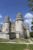 Pierrefonds Castle, Picardy, France — Stock Photo