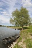 Loire river, Chaumont sur loire, Loire et cher, Centre, France — Stock Photo