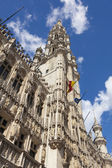 Maison du Roi building, Grand Place. Brussels, Belgium.  — Stock Photo