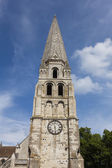 Saint-Germain abbey, Auxerre, Yonne department, Burgundy, France — Stock Photo