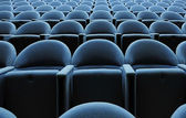 Cinema seats — Stockfoto