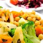 Vegetarian food — Stock Photo