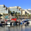 Eilat - a resort on the Red Sea — Stock Photo