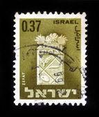 Coat of arms of Zefat — Stock Photo