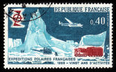 French polar expedition — Zdjęcie stockowe
