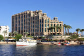 Hilton Eilat Queen Of Sheba Hotel — Stock Photo