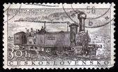 'Kladno' retro locomotive — Photo